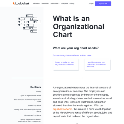What are your org chart needs?
