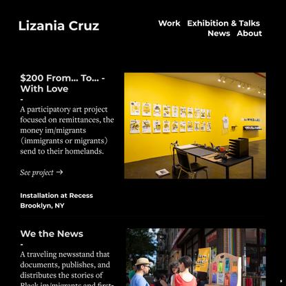 Lizania Cruz