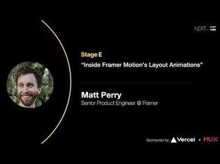 Inside Framer Motion's Layout Animations - Matt Perry