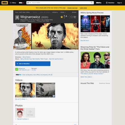 Wojnarowicz (2020) - IMDb