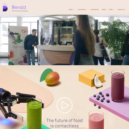 Home Page - Blendid