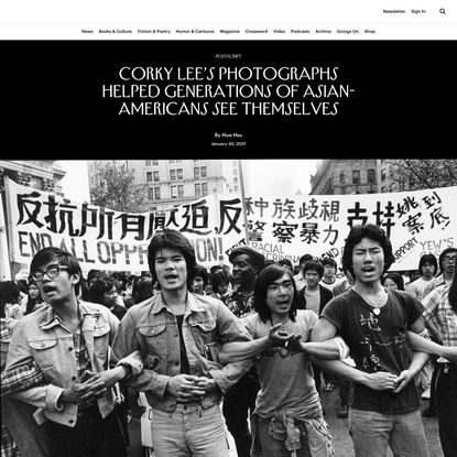 Corky Lee's Photographs Helped Generations of Asian-Americans See Themselves
