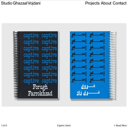 Studio Ghazaal Vojdani   Captive (Asir)