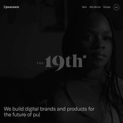Upstatement | A digital brand and product design studio