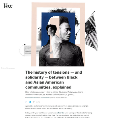 The history of tensions — and solidarity — between Black and Asian American communities, explained