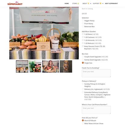 1 Week SÜBSCRIPTION - Store - SÜPRMARKT