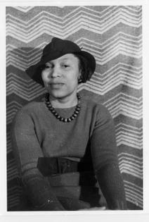 Portrait of Zora Neale Hurston by Carl Van Vechten (1938)