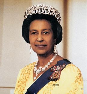 Kalman, Tibor. Black Queen Elizabeth (1996)