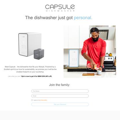 Meet CAPSULE.