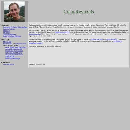 Craig W. Reynolds