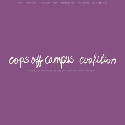 Cops Off Campus Coalition
