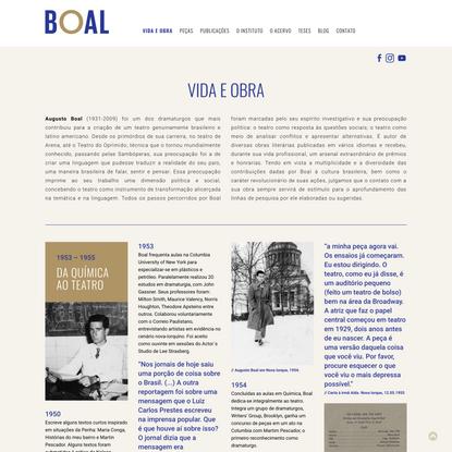 Vida e Obra - Augusto Boal