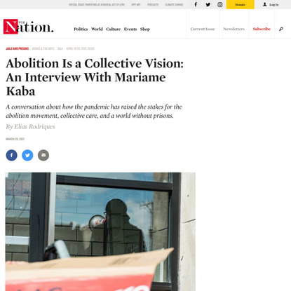 Abolition Is a Collective Vision: An Interview With Mariame Kaba