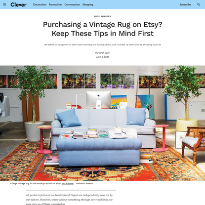 Purchasing a Vintage Rug on Etsy? Keep These Tips in Mind First