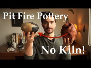 Pit Fire Pottery In Your Backyard   NO Kiln!