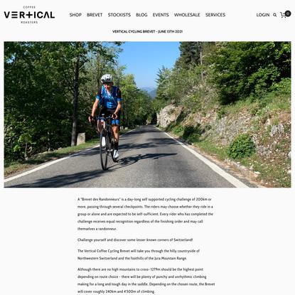 Vertical Coffee Cycling Brevet — Vertical Coffee Roasters