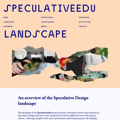 SpeculativeEdu | Landscape