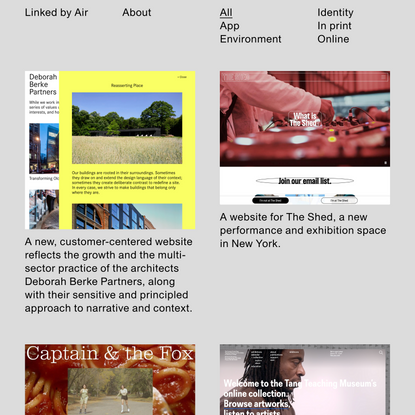 Projects - Linked by Air
