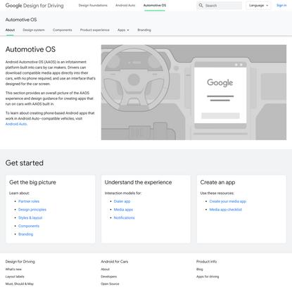 Design for Driving | Google Developers