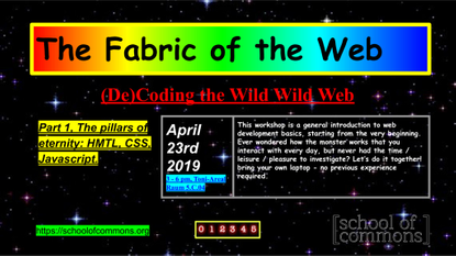 The Fabric of the Web (Part 1)