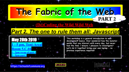 The Fabric of the Web (Part 2)