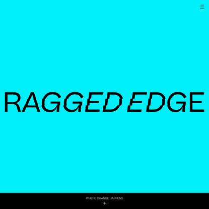 Branding Agency London - Ragged Edge