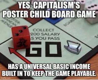 Yes Monopoly has UBI