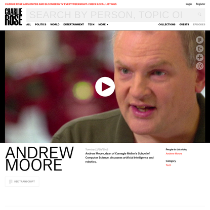 Andrew Moore - Charlie Rose