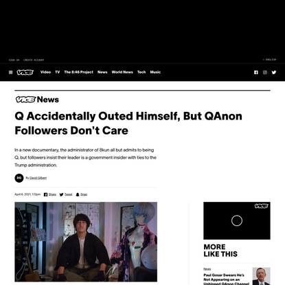 Q Accidentally Outed Himself, But QAnon Followers Don't Care