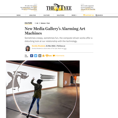 New Media Gallery's Alarming Art Machines | The Tyee