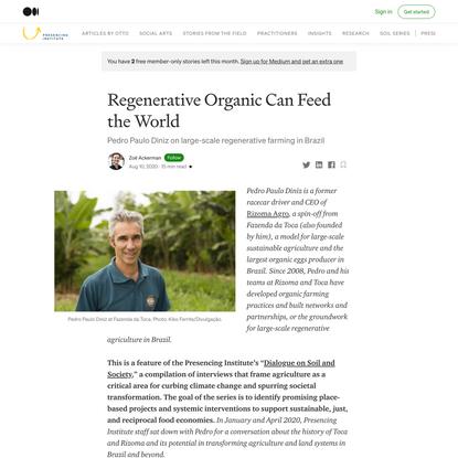 Regenerative Organic Can Feed the World