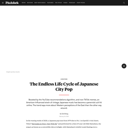The Endless Life Cycle of Japanese City Pop