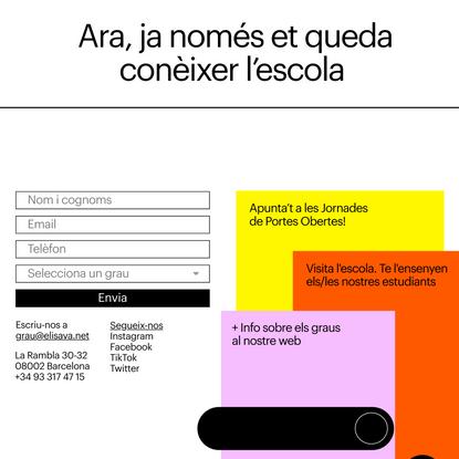 graus.elisava.net — This is design