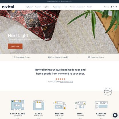 Revival™ | Handmade Rugs, Textiles and Home Decor