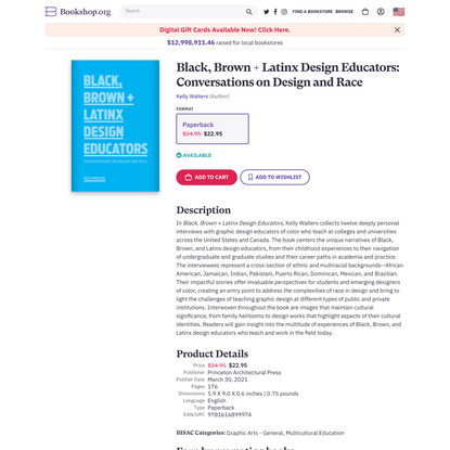 Black, Brown + Latinx Design Educators: Conversations on Design and Race