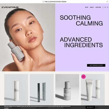 EVENPRIME | Next Generation Skincare