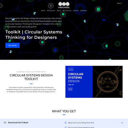 Toolkit   Circular Systems Thinking for Designers