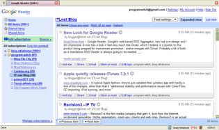 Google Reader (RIP)