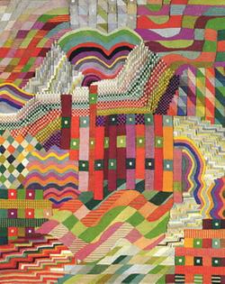 Gunta Stölz, a splendid 'priestess' of textile