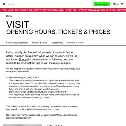 Visit Stedelijk Museum Amsterdam