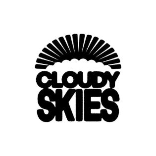 Cloudy Skies Logo by Edau
