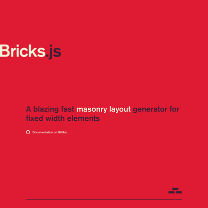 Bricks.js