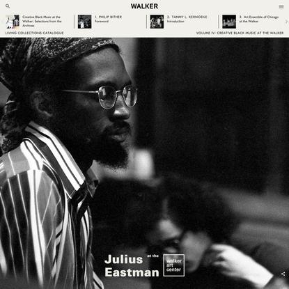 Julius Eastman at the Walker