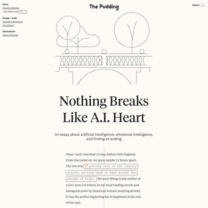 Nothing Breaks Like A.I. Heart