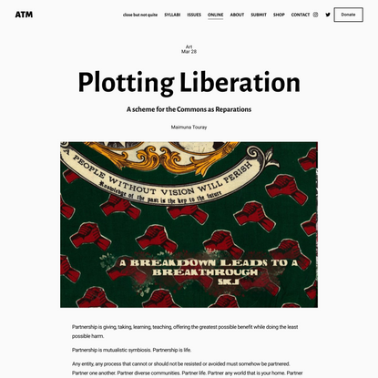 Plotting Liberation — ATM