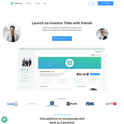 Tribevest | Launch an Investor Tribe with friends