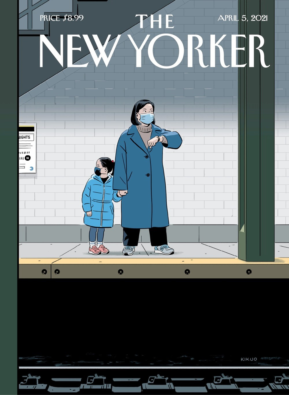 R. Kikuo Johnson, New Yorker cover (April 5, 2021)