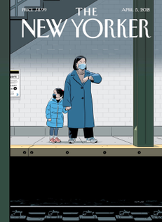 R. Kikuo Johnson, New Yorker cover (April 5, 2021)