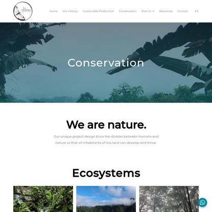 Conservation - La Hesperia