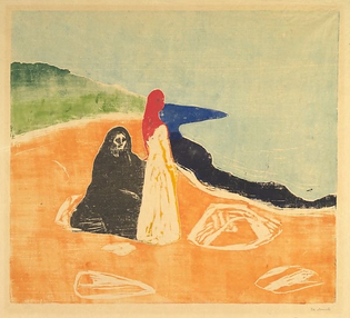 Two Woman on the Shore [Munch]